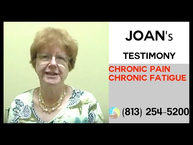 Joan's Success Story with Chronic Pain & Chronic Fatigue