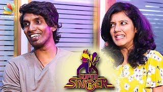 We are in a Live-in Together Relationship : Sakthi & Wife Interview | Supersinger, Vijay TV