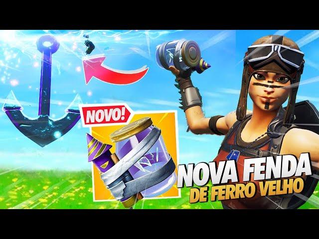FIM DO ROBÔ? NOVA FENDA DE FERRO VELHO - FORTNITE