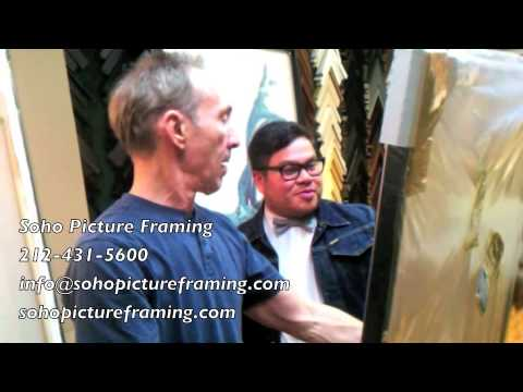 "Soho Picture Framing Testimonial #9 (""That looks awesome- perfect. That looks really great!"")"