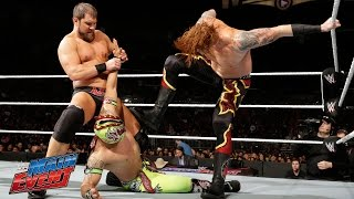 The Lucha Dragons vs. Curtis Axel & Heath Slater: WWE Main Event, February 21, 2015