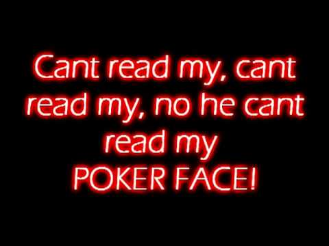Poker Face - Lady Gaga - LYRICS!!
