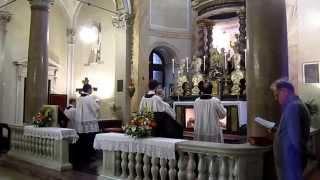 Vespri Beata Vergine - Rito ambrosiano - 23 4 2015 - 1 - Lucernario e Inno