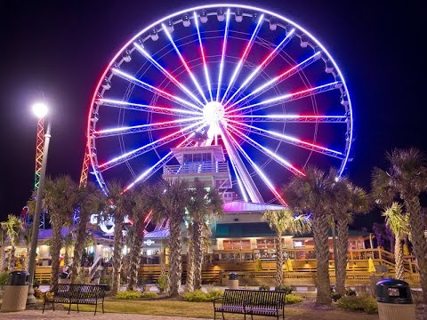 Sky Wheel Myrtle Beach Sc Usa 2016