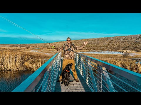 Winter Fly Fishing | Rocky Ford Washington