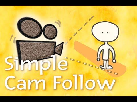 Simple Cam Follow - FREE ASSET - (demo & impementation)