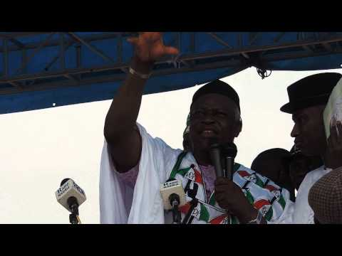 PDP GRAND RALLY IN OSOGBO, OSUN STATE, SOUTH WEST, NIGERIA.