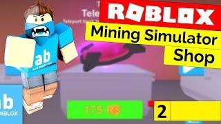 Roblox Mining Simulator Shop Tutorial - [Part 2] [Read Description To Fix]