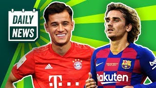 FC Bayern: Mit Coutinho doch Weltklasse? Griezmann-Klage von Atlético zurückgezogen!