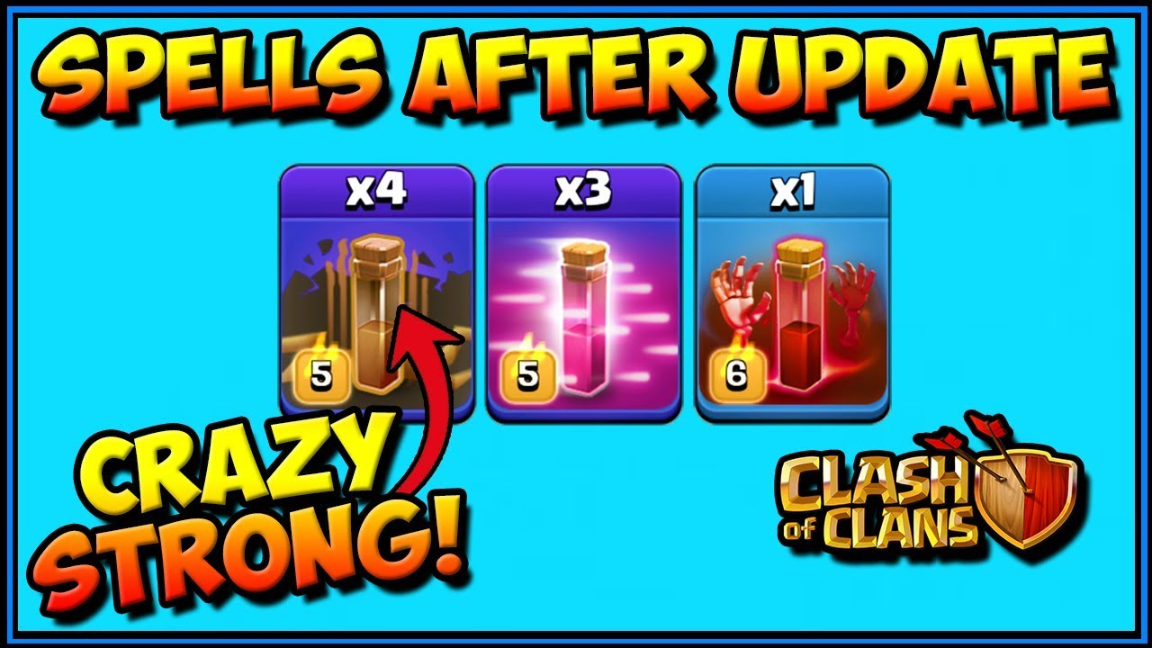 NEW EARTHQUAKE IS INSANE! Spells After Update CLASH OF CLANS