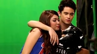 Repeat youtube video Nadine Lustre & James Reid -: mvshoot Sweet moments! PARA PARAAN- (fr Talk Back and You're Dead)