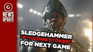 "Call of Duty Dev ""So F**king Stoked"" for Next Game - GS News Update"