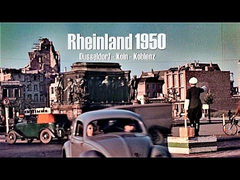 Rheinland 1950 - Duesseldorf - Koeln - Koblenz