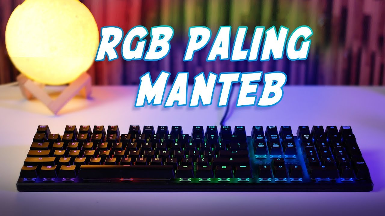 Nyobain Mechanical Keyboard Sultan? 🤔🤔  | Review Roccat Soura Fx