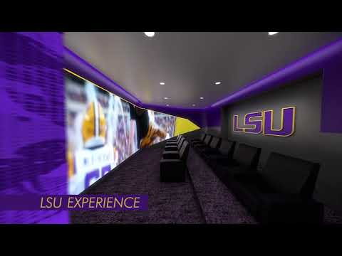 Virtual walk through of LSU Football Operations Center