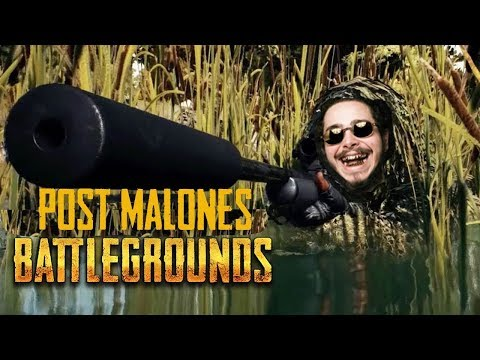 POST MALONE'S SECOND TWITCH STREAM (Post Malone playing PUBG)