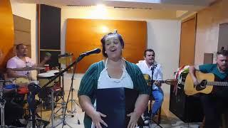 Ensaio em estúdio - Dona Esmeralda - Chuá Chuá