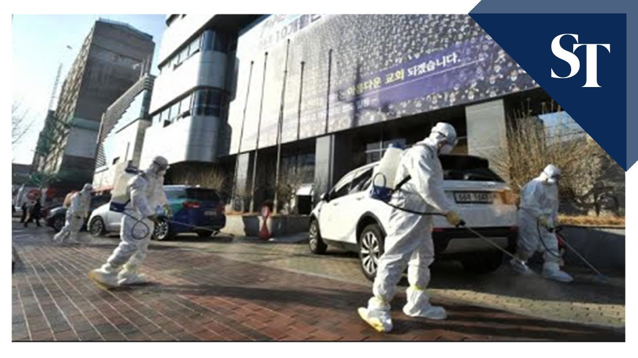 South Korean city deserted after coronavirus 'super-spreader' - The Straits TImes