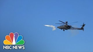 South Korea Conducts First Stinger Air-To-Air Missile Tests In Live-Fire Drill | NBC News