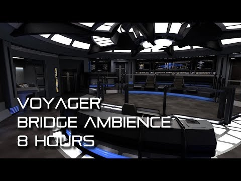 Star Trek: Voyager Bridge Ambience **8 HOURS**