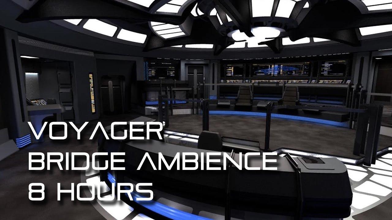 Star Trek Voyager Bridge Background Ambience 8 Hours For