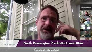 North Bennington Prudential Committee // 08/12/20