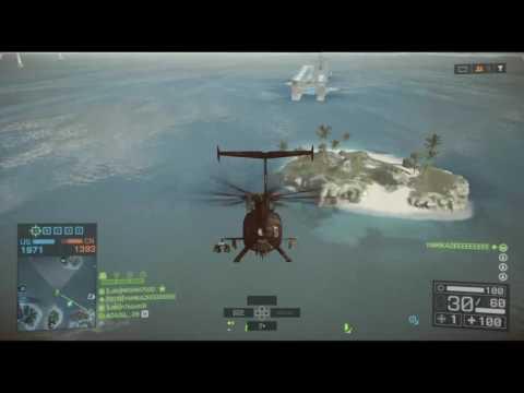 【BF4】世界ランク25位の戦闘艇を特攻のみでぶっ殺す【PS3】