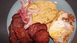 Como Hacer Mangu Dominicano (receta completa!)