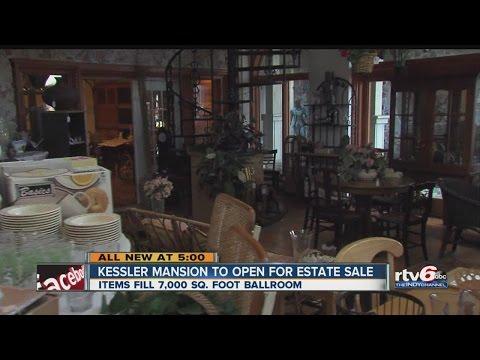 Infamous Kessler mansion open for estate sale