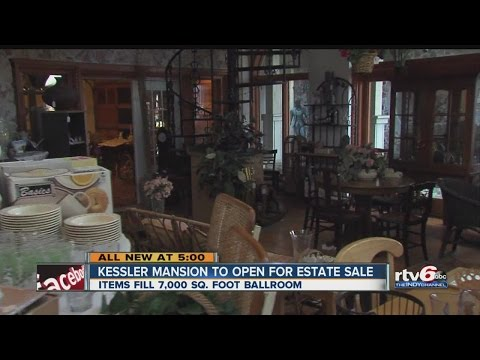 Infamous Kessler Mansion Open For Estate Sale