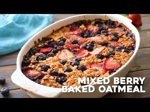 Berry Baked Oatmeal!