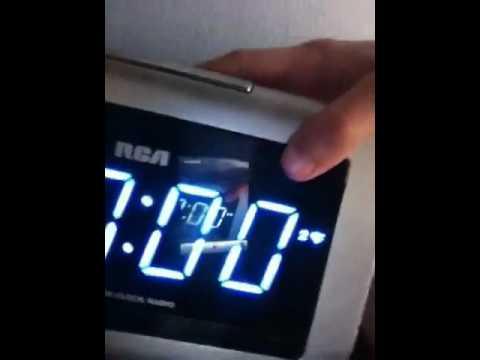how to set alarm on rca clock youtube rh youtube com
