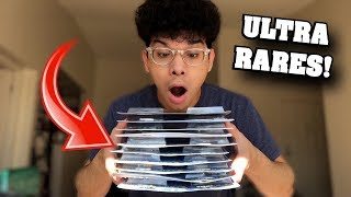 How Many ULTRA RARE Pokemon Cards Did We Get From Opening ALL THESE MYSTERY PACKS?!
