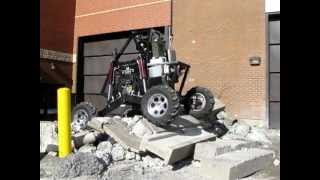 Fluid Powered Rock Crawler - Concrete Pile Conquered
