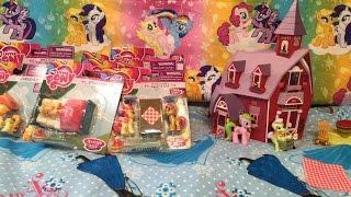 New My Little Pony FIM Figures Jonagold Applejack Sweetie Babs Apple Strudel Munchies Fritter Flam