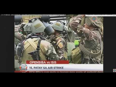 Philippine Armed forces news action video compilation.