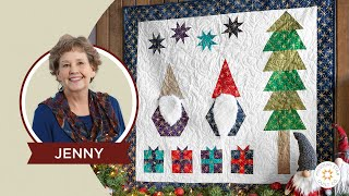 Make a Winter Wall Hanging Quilt With Jenny Doan of Missouri Star (Instructional Video)