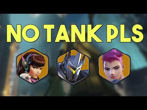 When They Don't Want You To Play a Tank - Funny Overwatch Series #40