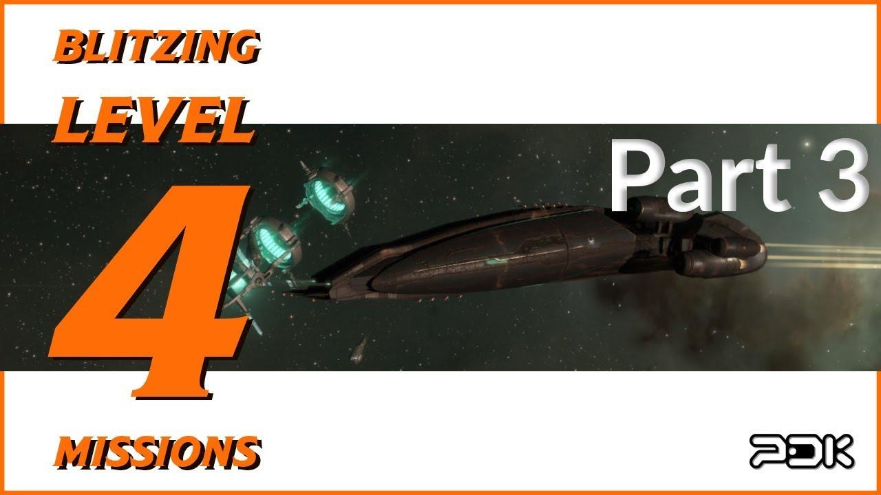 Blitzing Level 4 Missions - Machariel   Part 3   EVE Online - PocketsDK
