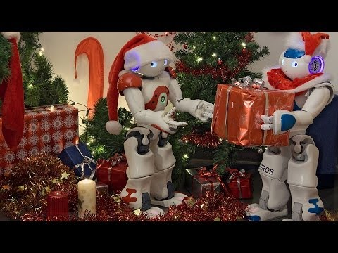 Santa's little helpers: Nao humanoids help prepare Christmas