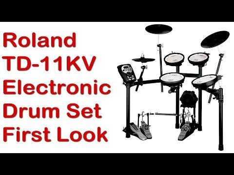 Roland V-Compact TD-11KV Electronic Drum Set First Impressions