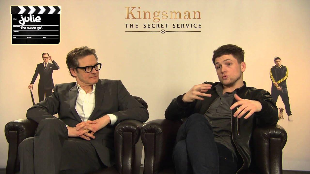 Kingsman The Secret Service Interview