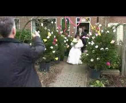 Bruidje gaat rollen
