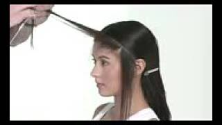 Стрижка длинных волос