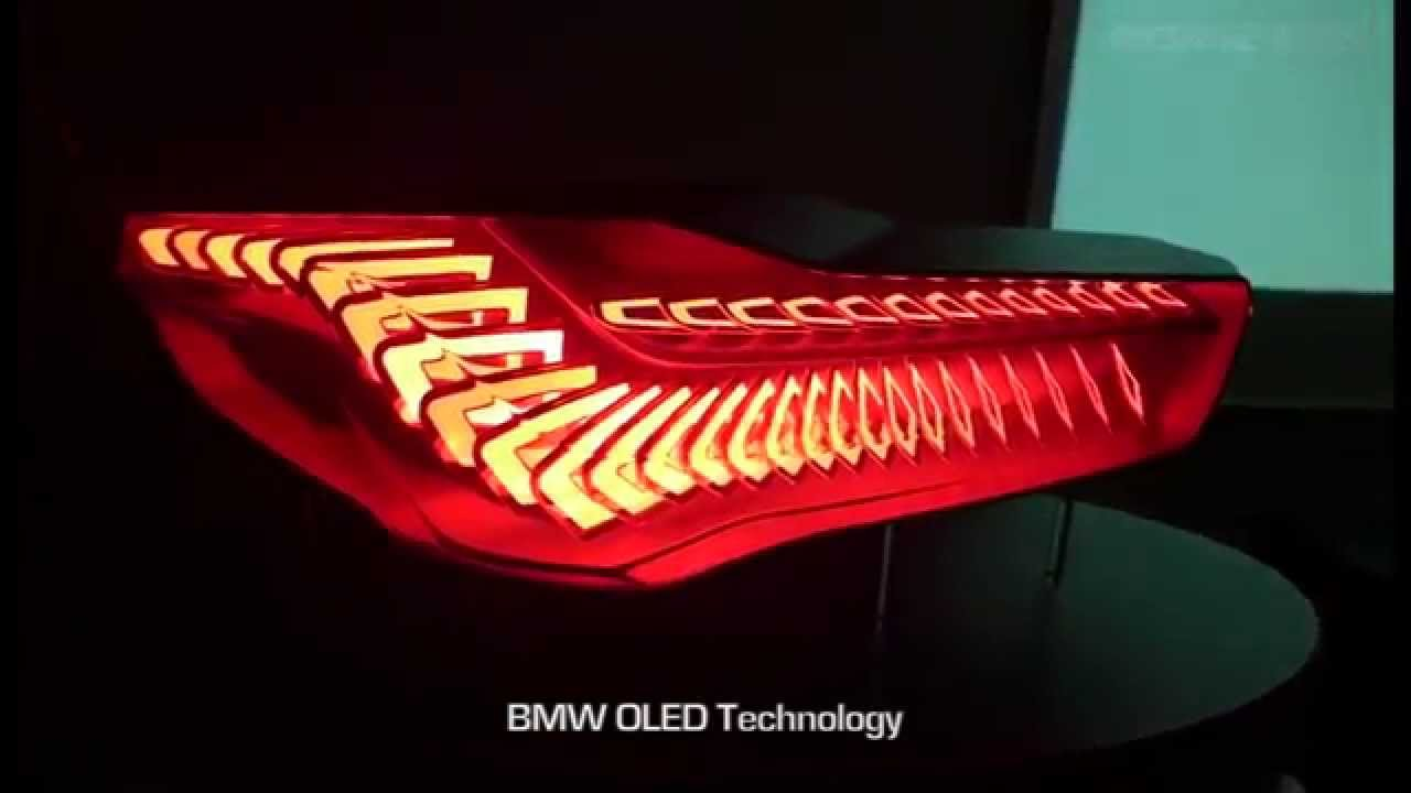 Bmw Oled Organic Led Preview Of Bmw Lighting Youtube