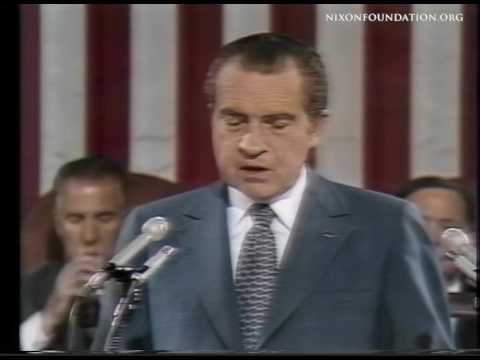 From the Archives: President Nixon Addresses Joint Session of Congress Upon Return from Moscow