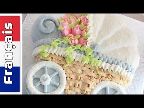 comments-faire-gâteau-poussette---moule-wilton-poussette---video-en-français