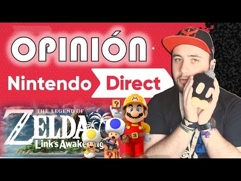 ¡OPINIÓN NINTENDO DIRECT! - Reacción Mario Maker 2 y Zelda - Nintendo Switch - Krisouver