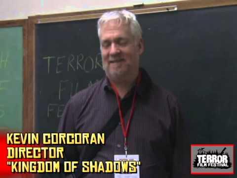 Director Kevin Corcoran (Kingdom of Shadows) at Terror Film Festival