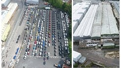 🚘 Longbridge (MG Rover) Now! Abandoned - Empty - Rows of Unsold Cars (Drone Footage)